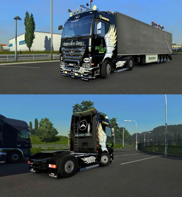 Mercedes Actros Angel Skin