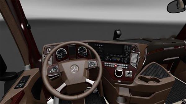 Mercedes MP4 Brown Interior