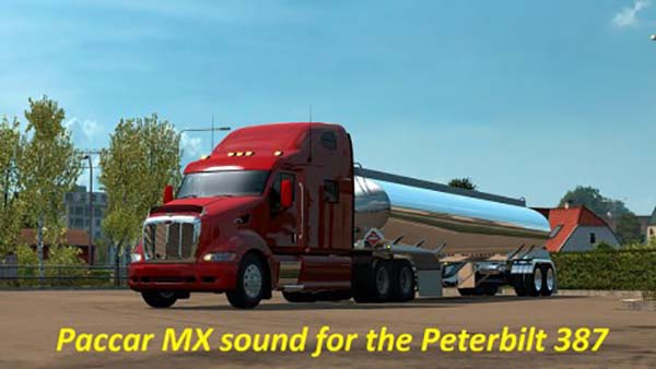 Paccar Stock Sound Mod for the Peterbilt 387