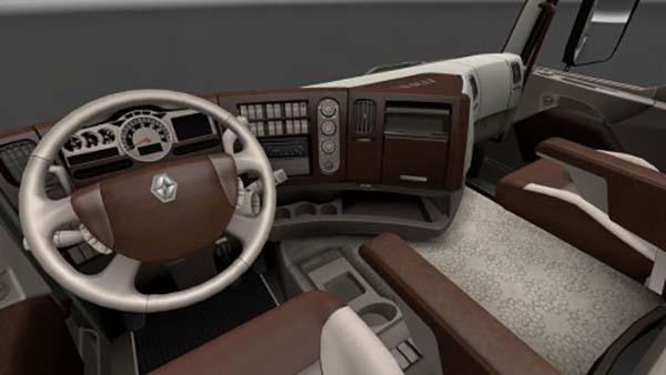Renault Premium Wood Cream Interior