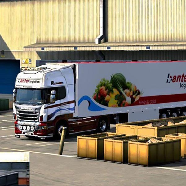 Scania Pack Banter Logistik Fresh and Cold