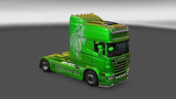 Scania R and Streamline RJL Metallic Skin