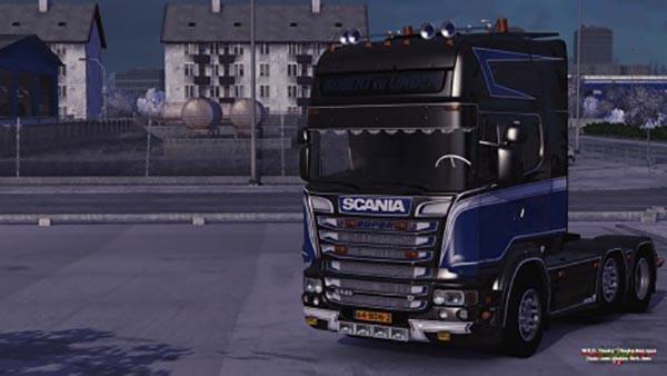 Scania R520 Robert VD Linden