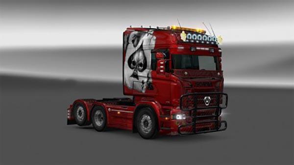 Scania RJL Aces Skin