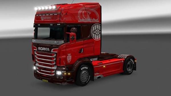 Scania RJL Big Viking Skin