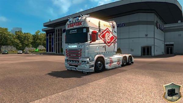 Scania RJL Longline Spartak v2 Skin