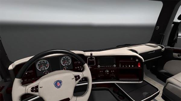 Scania RJL Lux Cream Interior
