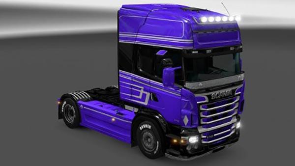Scania RJL Purple Skin