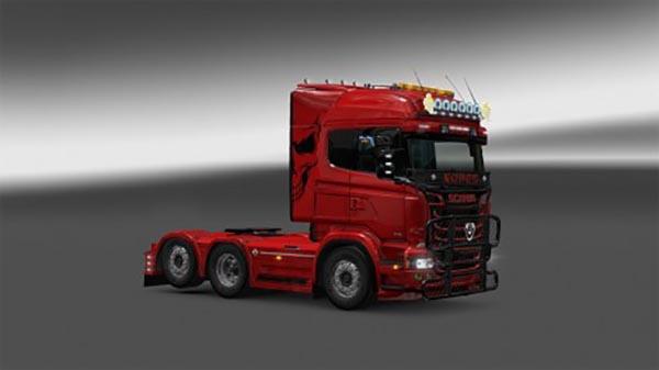 Scania RJL Redlady Skin