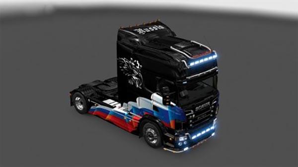 Scania RJL Russia Flag Skin