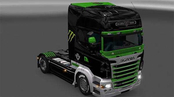 Scania RJL Skin spack