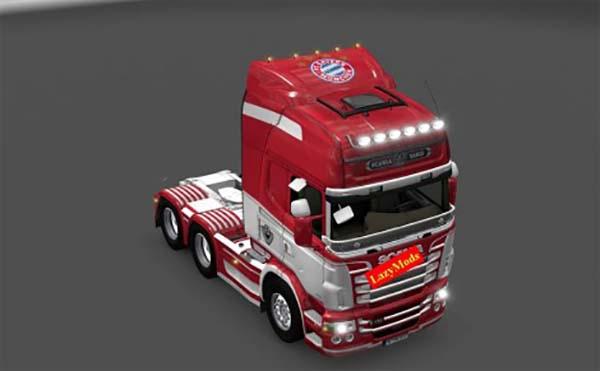 Scania RJL V8 FC Bayern Munich