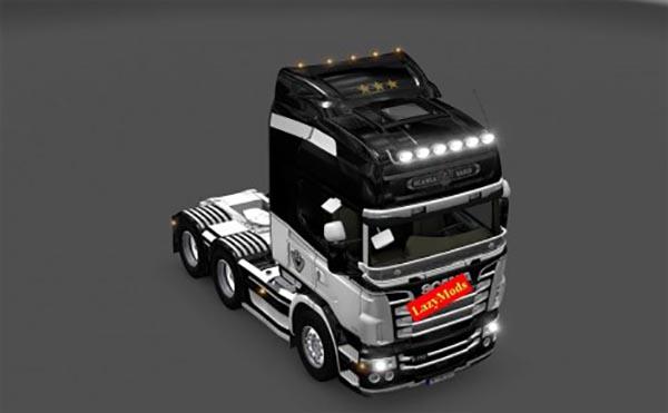 Scania RJL V8 Juventus