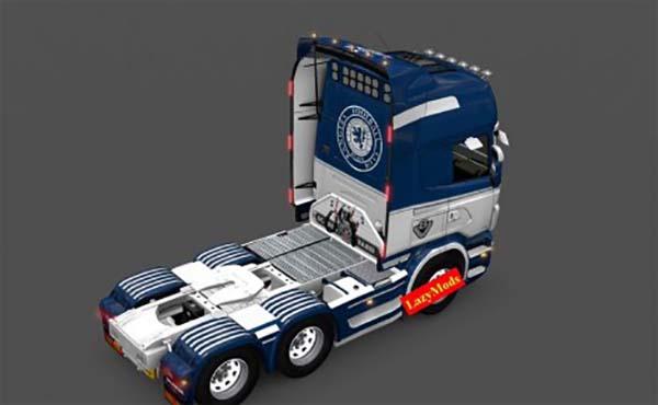 Scania RJL V8 Rangers F C