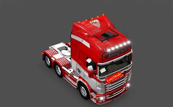 Scania RJL V8 Sevilla FC
