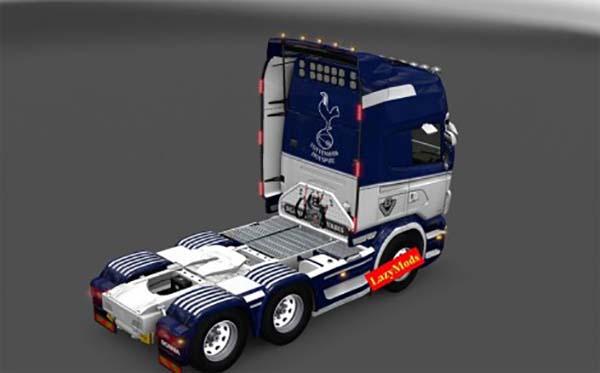 Scania RJL V8 Tottenham Hotspur F C