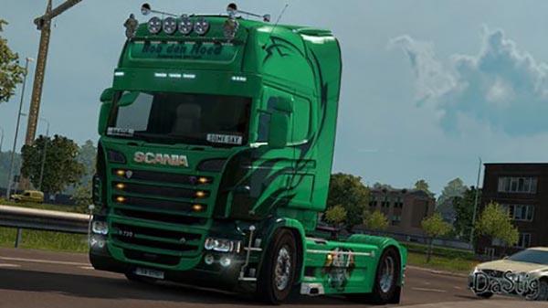 Scania RS RJL Rob Den Dug Skin