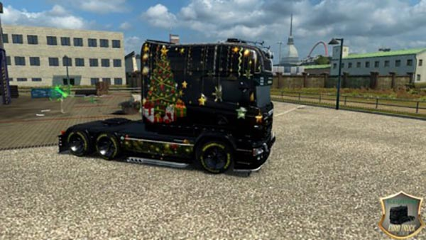 Scania RS for RJL Happy New Year Skin