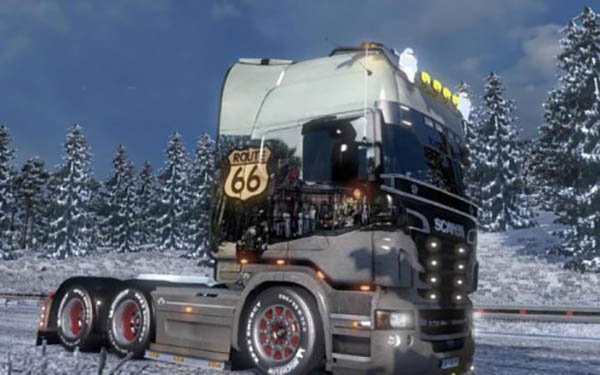 Scania Route 66 Skin