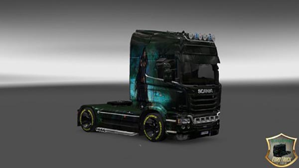 Scania Streamline Girl Skin v 3.0