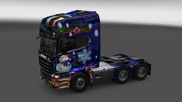 Scania Streamline New Year 2016 Skin
