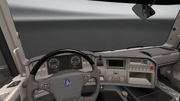 Scania Streamline Soft Interior v8