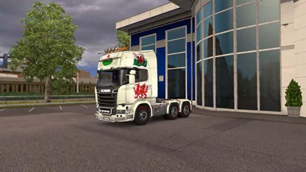 Scania Welsh Skin