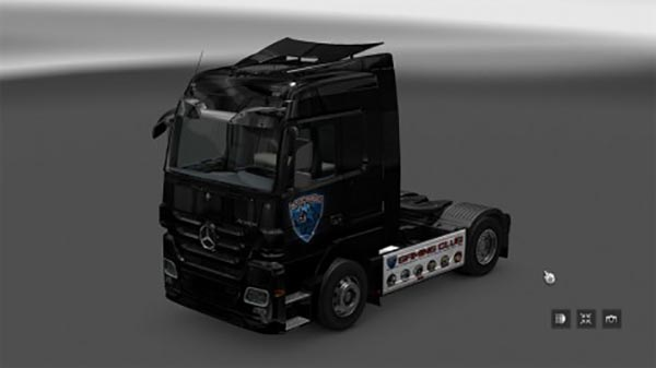 Skin Gaming Club Mercedes Scania