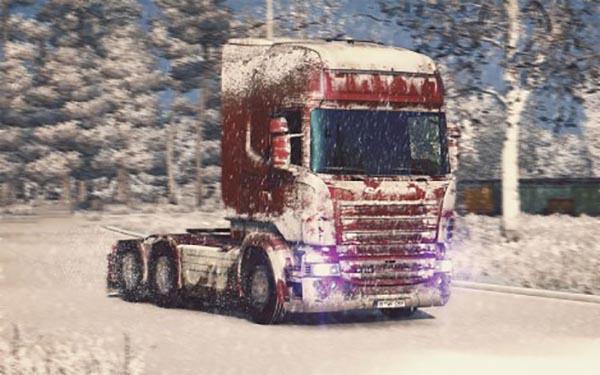 Snow Skin for Scania R-Streamline