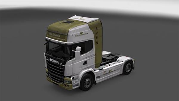 Sven slembrouck Scania Streamline truck skin