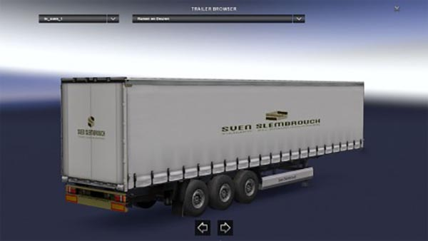 Sven slembrouck windows and doors trailer skin