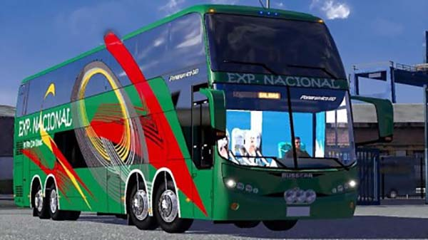 Traffic bus mod Marcopolo