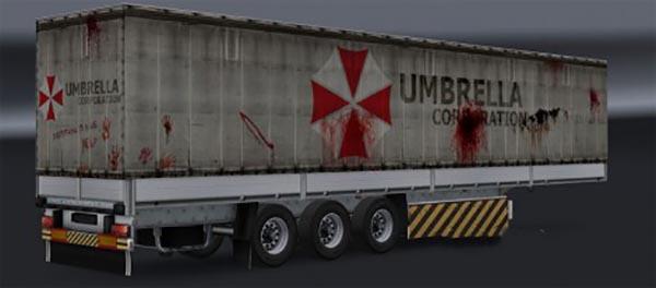 Umbrella Corporation Trailer