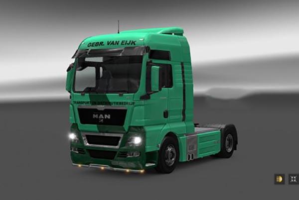 Van Eijk Transport Man TGX Skin