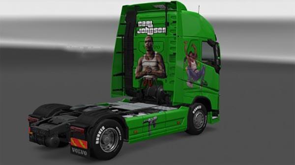 Volvo FH 2012 Skins Pack