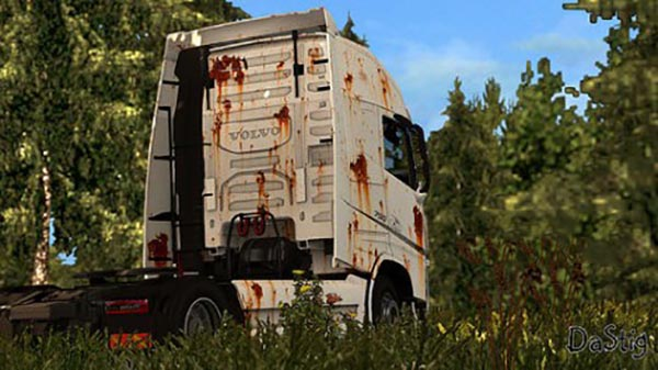 Volvo FH 2013 Old Rusty Skin