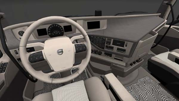 Volvo FH Globetrotter Sleeper and XL Blue Cream Interior