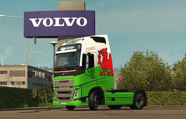 Volvo FH Welsh Skin