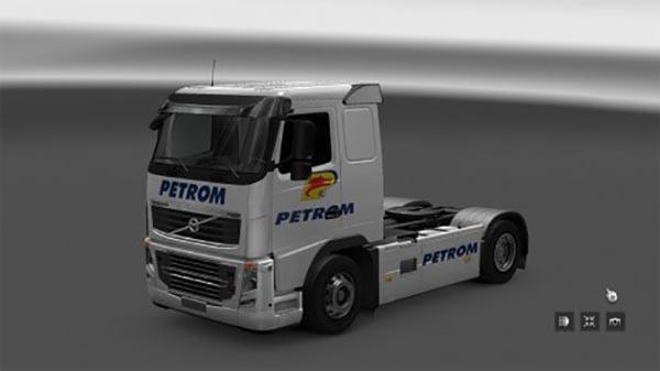 Volvo FH16 Clasic Skin Petrom