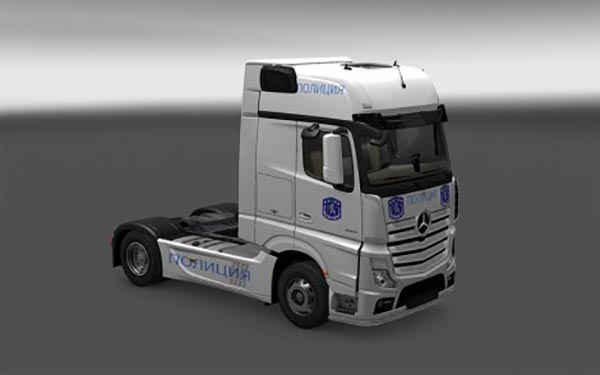 Bulgarian Police Truck