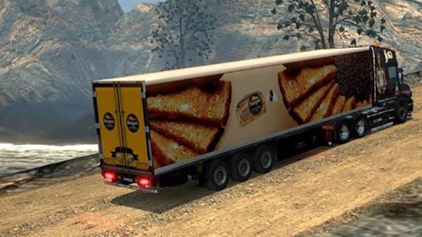 Burgen Bread Trailer