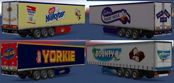 Chocolate Trailer Pack