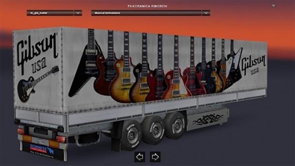 Gibson Guitars Trailer
