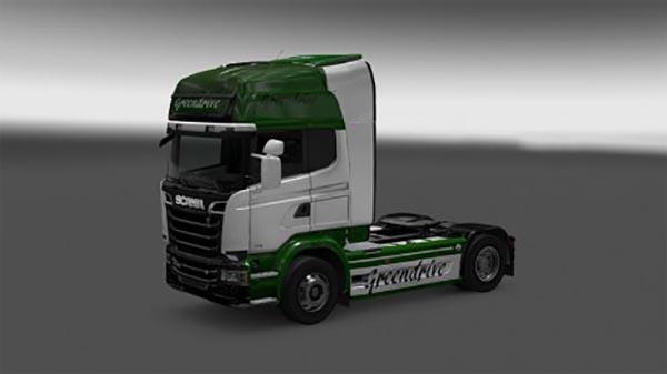 Greendrive truck skin