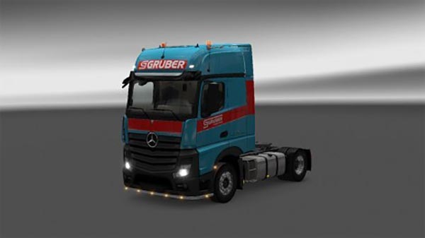 Gruber Mercedes Actros Mp4