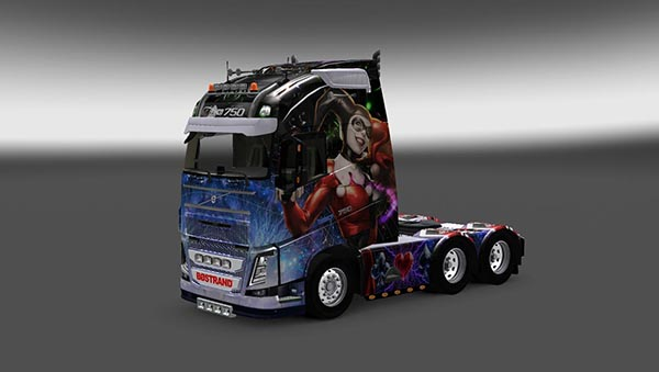 Harley Quinn Skin Pack for All Trucks
