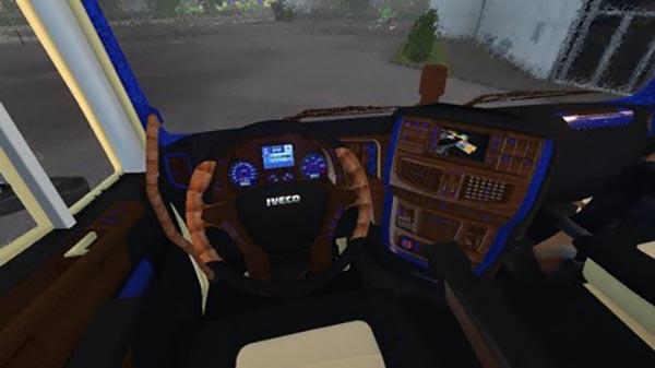 Iveco Hi-Way Lux Interior