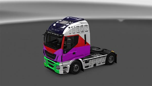 Iveco Hi-Way Mix Skin