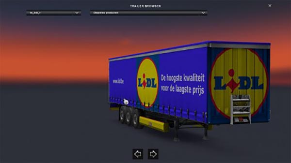 LIDL trailer skin