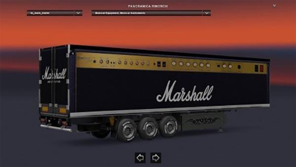 Marshall Amplifier Trailer